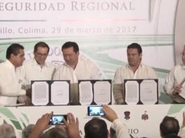 firman convenio regional de seguridad